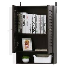 wall cabinet office. Indo Espresso Double Door Wall Cabinet Office