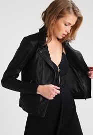 yaslindsay jacket leather jacket black