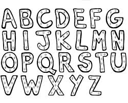 Small Picture Wonderful Alphabet Coloring Pages Free Printable Alphabet 7802