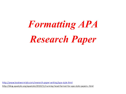 Ppt Formatting Apa Research Paper Powerpoint Presentation Id2951887