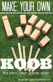 Wooden Lawn Games 100 DIY Yard Games 3