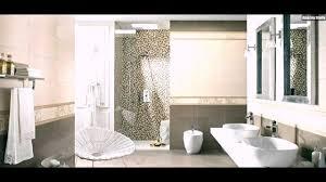 Mosaik Fliesen Badezimmer Weiss Sandfarbe Beige Doppelt Waschbecken