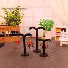 Earring Display Stands Wholesale Wholesale 100setslot Wooden Earrings Display Stand Set Earrings 70