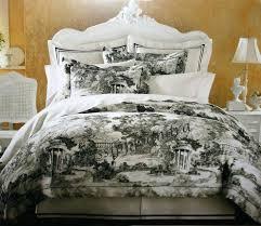black and white toile bedding black bedding black and white waverly black white toile bedding