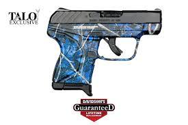 ruger model lcp pistol semi auto 380 blue