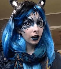 molly face paint makeup fantasy performer imagine circus cirque