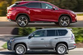 Lexus Suv Size Chart 2019 Lexus Rx Vs 2019 Lexus Gx Whats The Difference