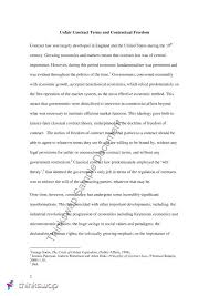 an essay discussing whether prohibiting unfair contract terms  an essay discussing whether prohibiting unfair contract terms unduly infringes on the doctrine of dom of