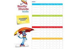 Bed Wetting Reward Ideas Brolly Sheets Nz