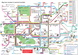 london underground tube map with tourist attractions and of in