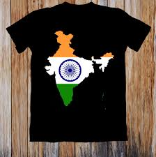 Indian Flag T Shirts Design Indian Map Flag Unisex T Shirt Casual Funny Free Shipping Unisex Tee Gift