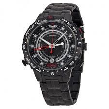timex iq tide temp compass black dial black ion plated men s watch timex iq tide temp compass black dial black ion plated men s watch t2p140