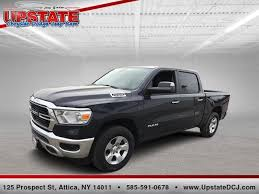 New 2019 Ram 1500 BIG HORN / LONE STAR CREW CAB 4X4 5'7 BOX For Sale in Attica, NY | 1C6SRFFTXKN783229