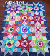 Cabin Fever ~ Block of the Month Quilt Pattern / Patterns by ... & Image of Cabin Fever ~ Block of the Month Quilt Pattern ... Adamdwight.com