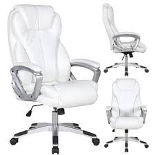 white leather office chairs. Unique White Buy White Office U0026 Conference Room Chairs Online At Overstockcom  Our  Best Home Furniture Deals Inside Leather I