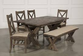 Mallard 6 Piece Extension Dining Set Living Spaces