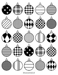 Kerstballen Inpakpapier Kleurplaat Kerst Kleurenisleuknl