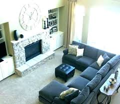 rug under sectional to beautiful how to place