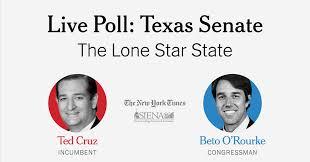 Midterm Election Poll Texas Senate Cruz Vs Orourke The