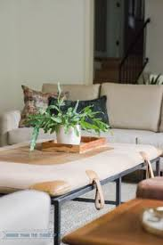 a vine upholstered equestrian pad for a steel oversized coffee table vine modern living room
