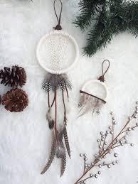 Dream Catcher Christmas Ornament Modern Bohemian Dream Catcher by BastandBruin bast bruin 19
