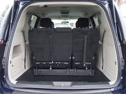 seats folded down image of dodge grand caravan cargo e dimensions