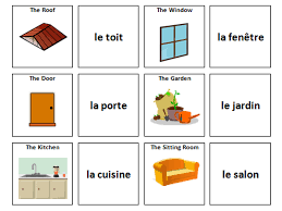 The House: French Vocabulary Card Sort by ineedtoteachthat ...