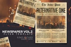 20 Old Newspaper Template Psd Indesign And Ai Format