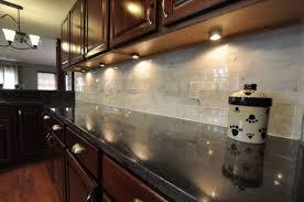 black granite countertops with tile backsplash. Shiny White Backsplash Black Granite Countertops With Tile A