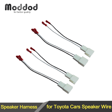 popular toyota wiring harness connectors buy cheap toyota wiring Toyota Wire Harness Connectors for toyota speaker wire harness connects aftermarket to oem adapter plug set connector wiring cable adaptor toyota wiring harness connectors