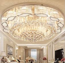 details about k9 clear crystal pendant lamp led chandeliers luxury lighting ceiling lights