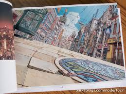 tekkon kinkreet art book background paintings 03