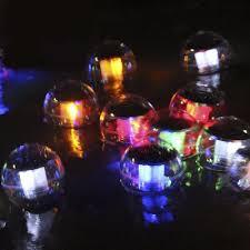 plastic lighting. plastic color changing 4u0027u0027 wide globe led solar energy powered water floating light lighting h