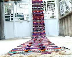 perfect 12 foot runner burlap table rug runners by the pertaining to carpet designs 3 stair