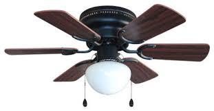 oil rubbed bronze 30 hugger ceiling fan with light kit