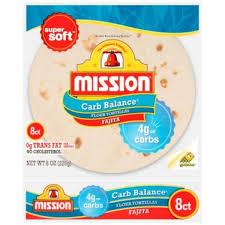 mission fajita flour mission carb balance fajita flour tortillas from randalls instacart