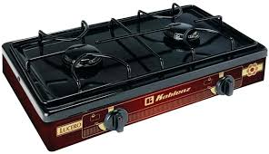 55 000 btu propane gas single burner outdoor stove double range and high pressure camping bbq full size