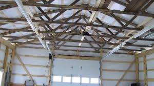 led barn lights cha pole barn update we got grid power led and fluorescent lights by