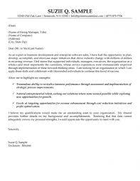 Cover Letter For Business Development Chechucontreras Com