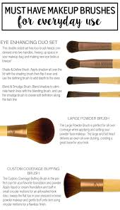 makeup brushes names. must have makeup brushes for everyday looks! names