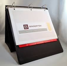 Display Binders With Stand Display Easel Binder 7