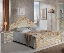 cheap italian bedroom furniture. MCS Selene Cream Finish Italian Bed Frame Cheap Bedroom Furniture A