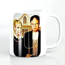 the office star mug. Office Coffee Mug Martin The Cup Warmer . Star V