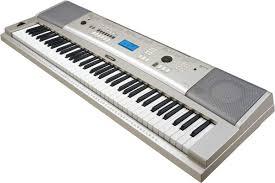 yamaha keyboard piano. yamaha ypg-235 keyboard piano m