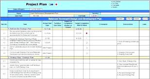 Project Management Plan Excel Project Management Forms And Templates Syncla Co