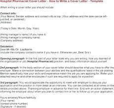 Pharmacy Intern Cover Letter Pharmacist Cover Letter Pharmacist