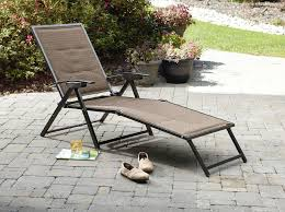 Fold Up Chaise Lounge Garden Oasis Harrison Matching Folding Padded Sling Chaise