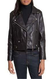 rebecca minkoff wes leather moto jacket black leather moto jackets fall 2017