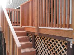 exterior wood railing. incredible home exterior design ideas using deck with stairs : breathtaking for decoration wood railing n