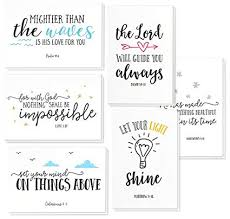 Amazon 40 Pack Inspirational Bible Verse Quote Greeting Cards Unique Quote Cards
